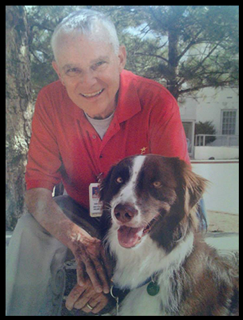 Congratulations to Don and Sailor for passing Pet Partner's therapy dog re-evaluation.  Sailor got the highest score of Complex which means he can multi task in several areas.  He can go to hospitals, hospice, assisted living - senior care, nursing homes, educational centers and all health care facilities.  We are so proud of both Don and Sailor.